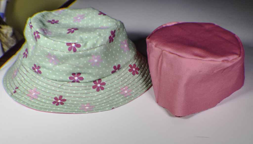 Make a reversible bucket hat
