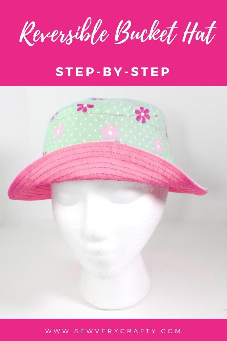 Free Bucket Hat Pdf Pattern : bucket, pattern, Reversible, Bucket, Crafty