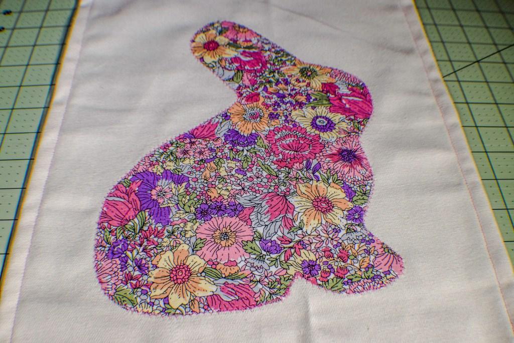 Make an Easter Garden Flag