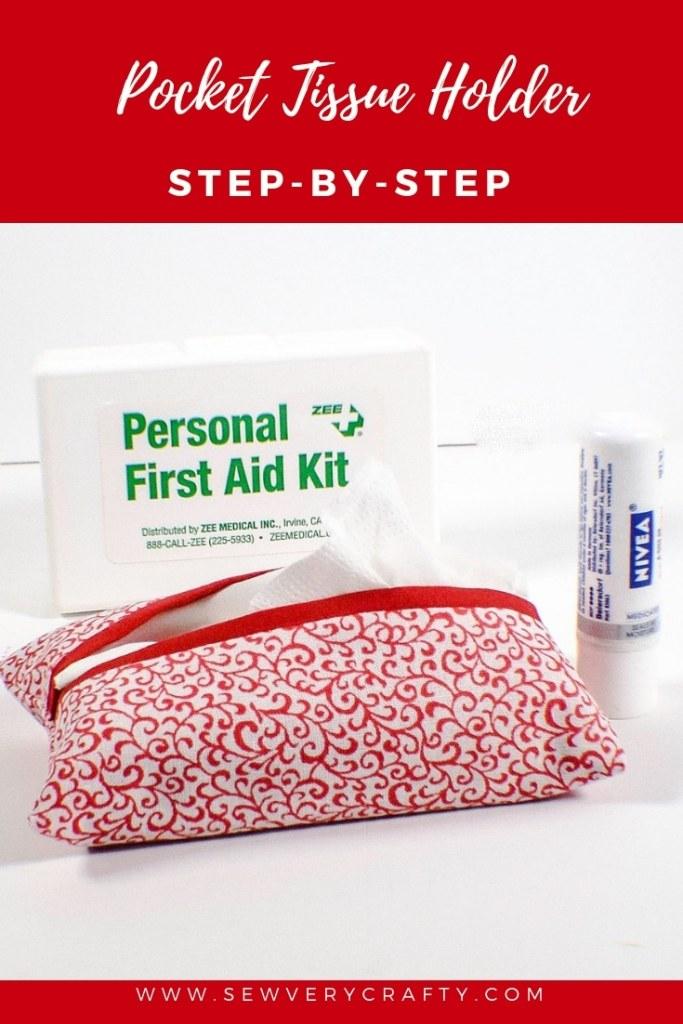 Make a pocket tissue holder