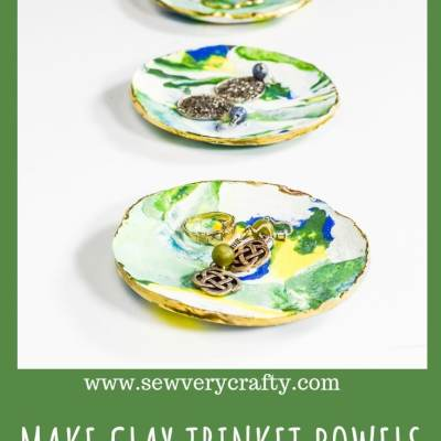 Make Polymer Clay Trinket Bowels