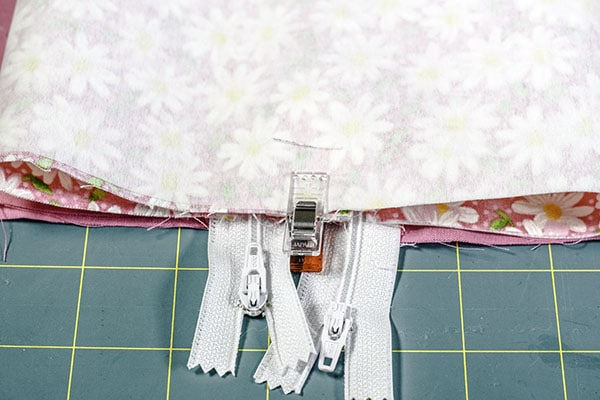 How to make a double zipper box pouch