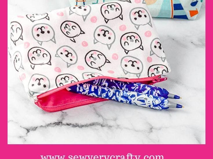 Sew a DIY Pencil Case