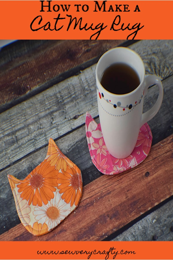 How to Make Cat Mug Rugs