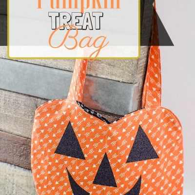 How to Make a Pumpkin Treat Bag