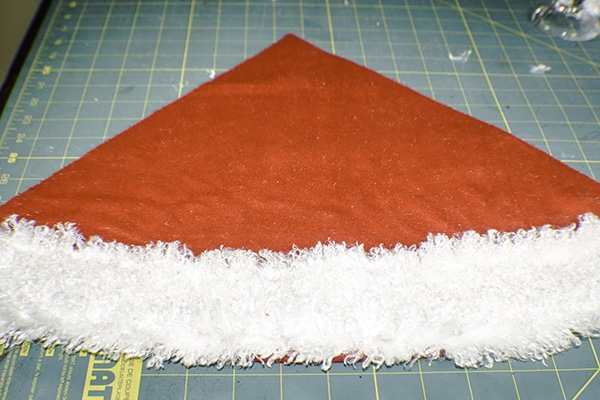 How to Make a DIY Santa Hat