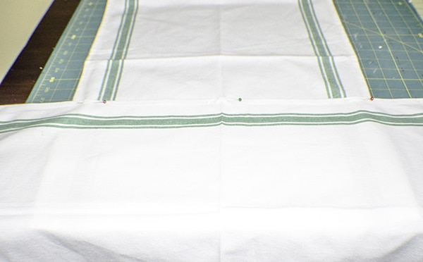 How to make a discloth apron
