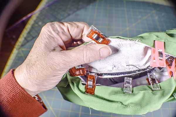 How to make a round handbag