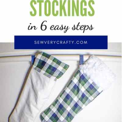 How to Make a Cuffed Christmas Stocking