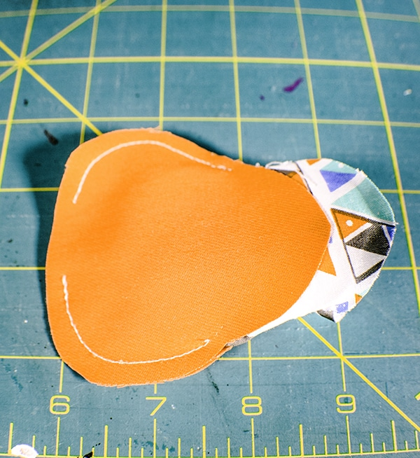 How to make a key chain coin purse