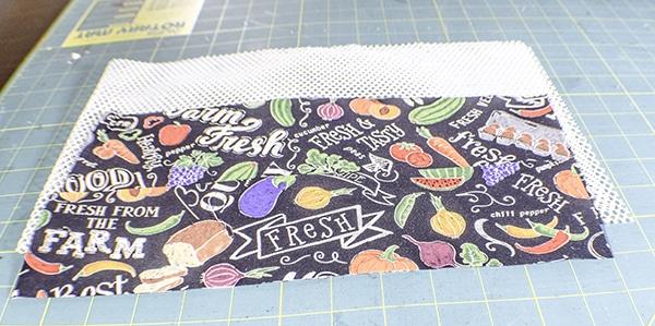 How to make a reusable produce bag