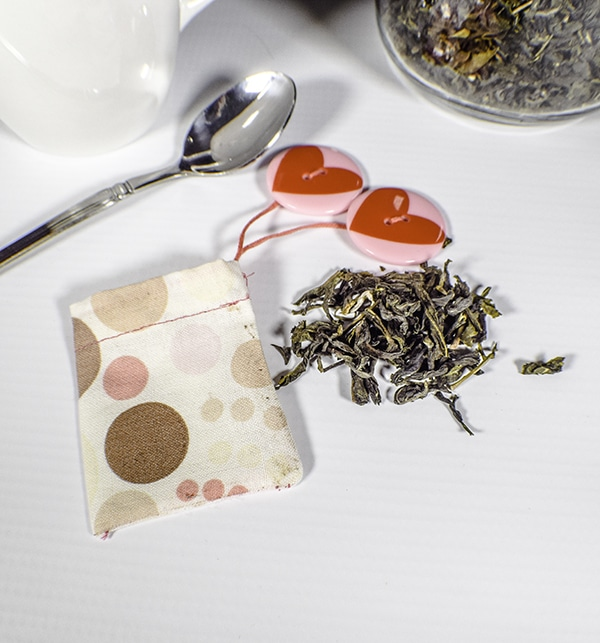 How to make a reusbale tea bag