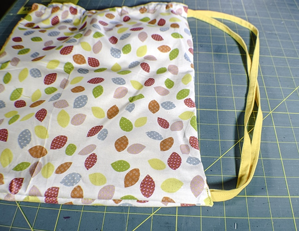 How to make a drawstring wet bag