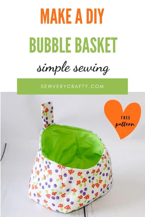 How to make a bubble basket