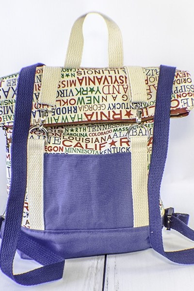 How to Make a Fold Over Backpack