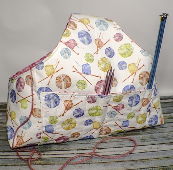 How to Make a Knitter's Bag