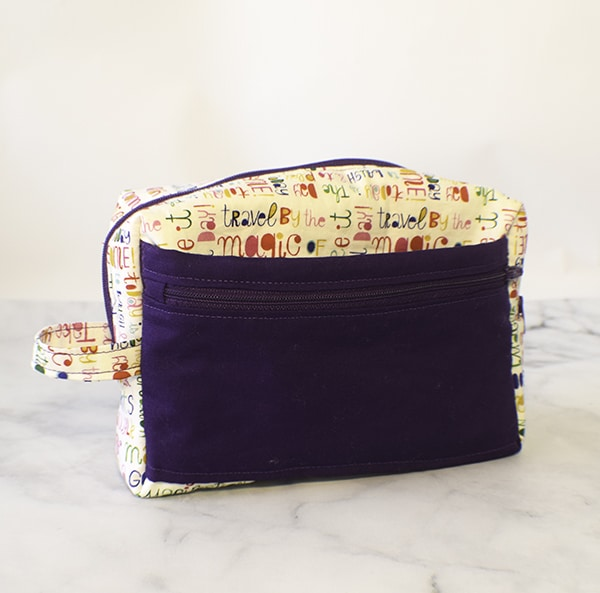 How to make an organizer pouch