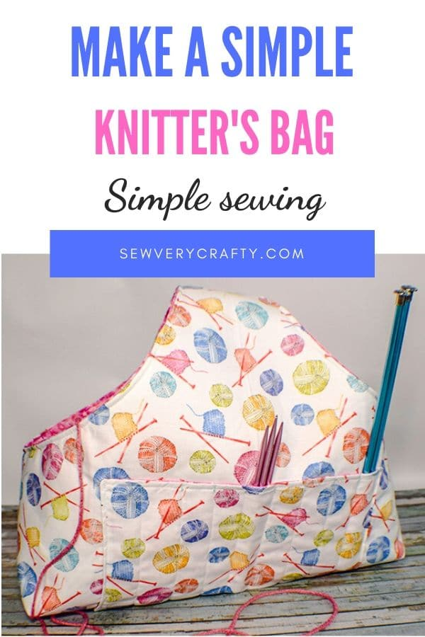 How to make a knitters bag