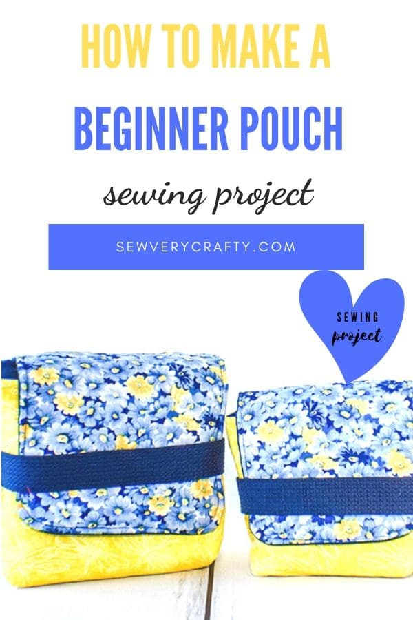 How to Make a Beginner Fold Over Pouch
