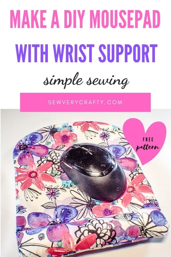 How to Make a Mousepad with wrist support.
