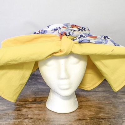 How to make a wide brimmed sun hat