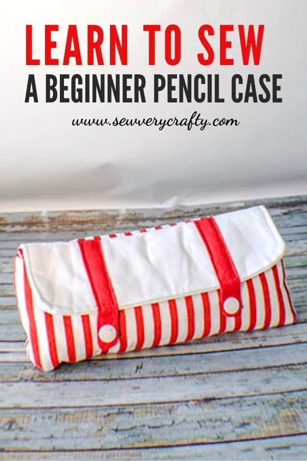 How to make a beginner pencil case