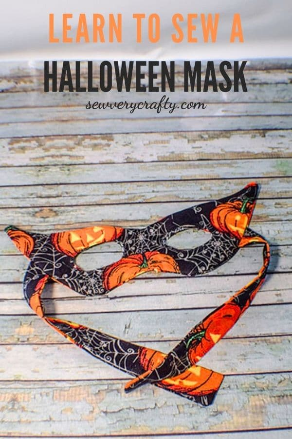 How to Sew a Simple Halloween Face Mask