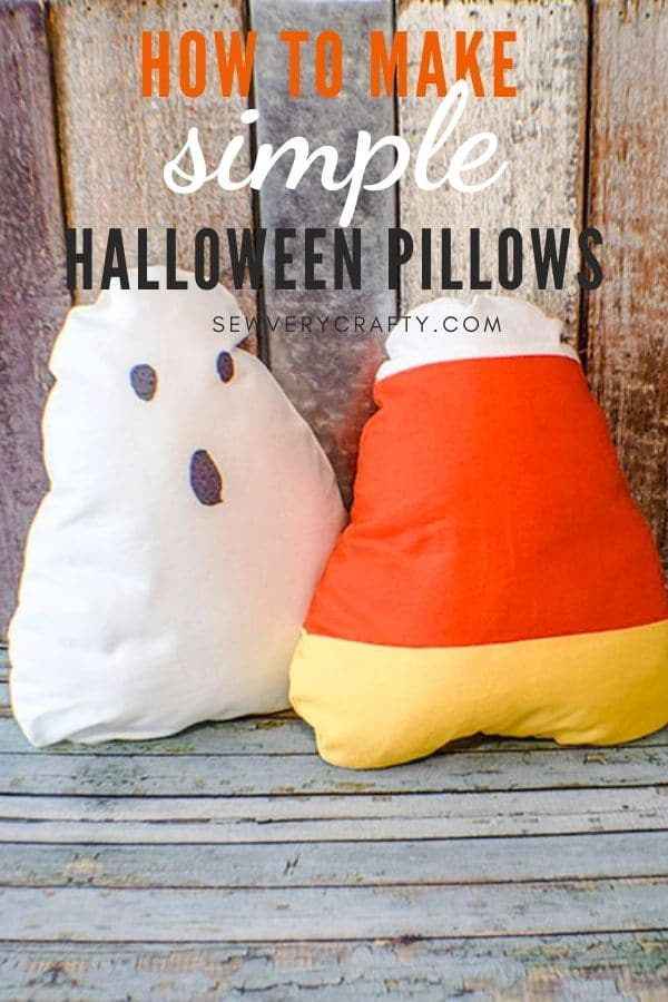 How to Make candy corn pillows