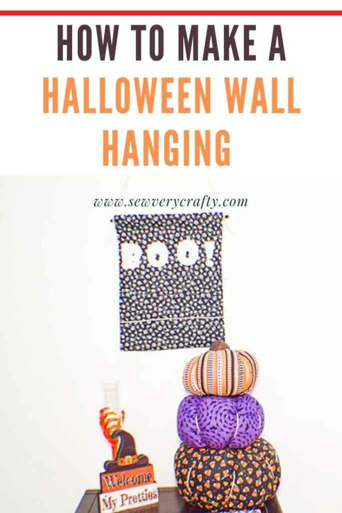 How to Make a Halloween Wall Hanging
