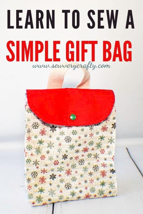 How to Make a Simple Gift Bag