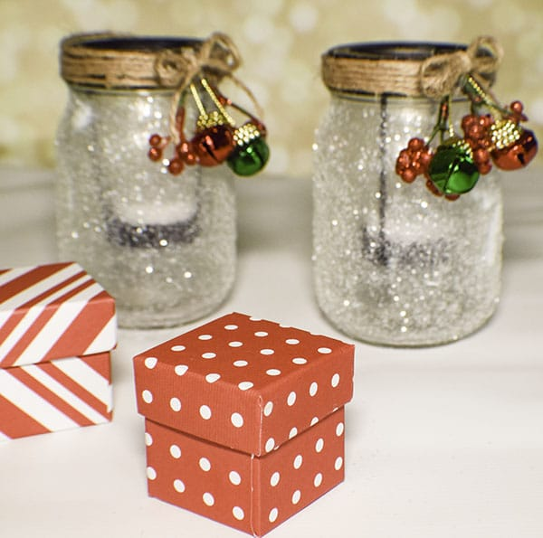 How to Make Dollar Tree Christmas Votive Holders