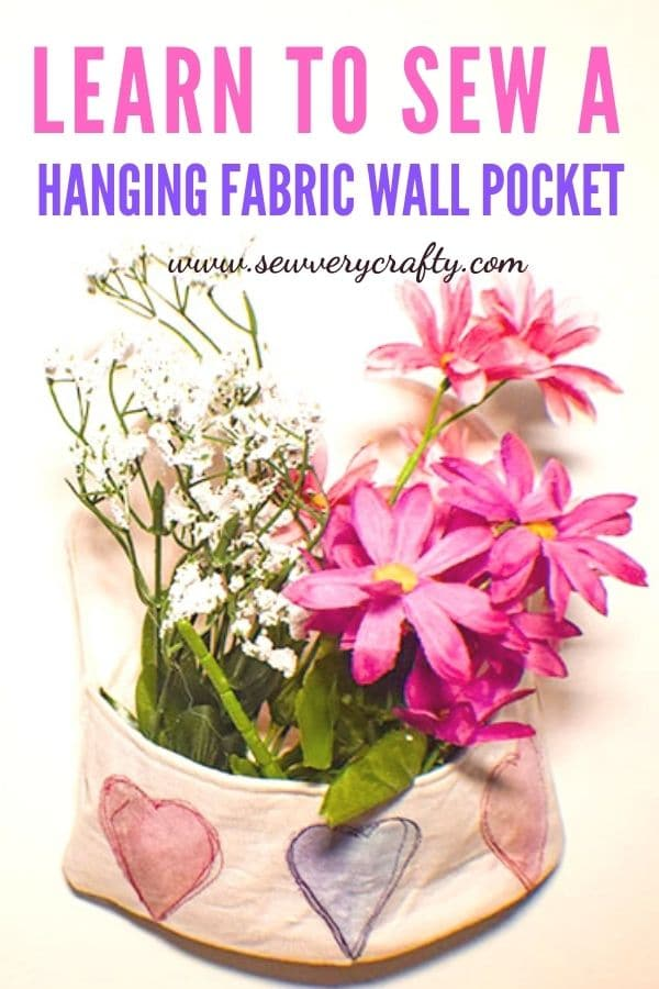 How to Make a Fabric Wall Pocket