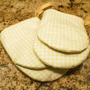 How to make a diy oven mitt