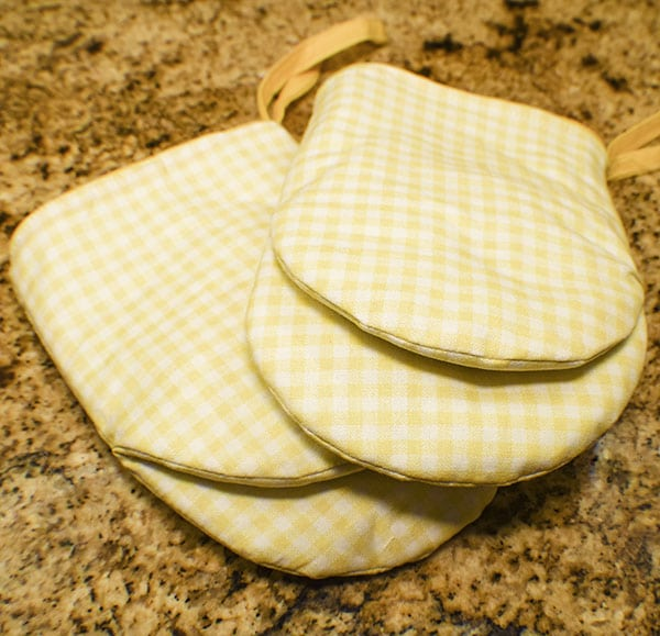 How to make a diy oven mitt