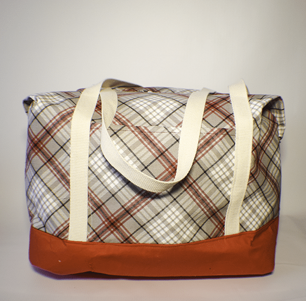 How to Make a Large Travel Tote Bag