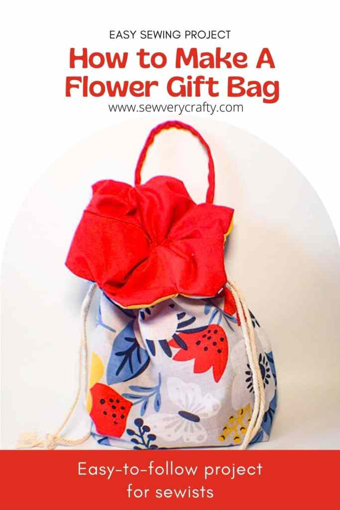 How to Make a Flower Gift Bag