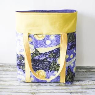 How to Make a six pocket tote bag