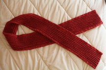 Sew Well - Faux-Chenille Scarf