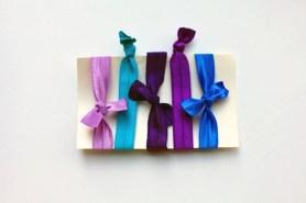 Sew Well - No-crease elastic hair tie tutorial