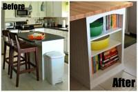 {Video} Kitchen Island Custom Bookcase - Sew Woodsy | Sew ...