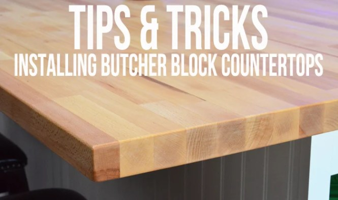 How to install butcher block countertops bstcountertops for How to install butcher block countertops