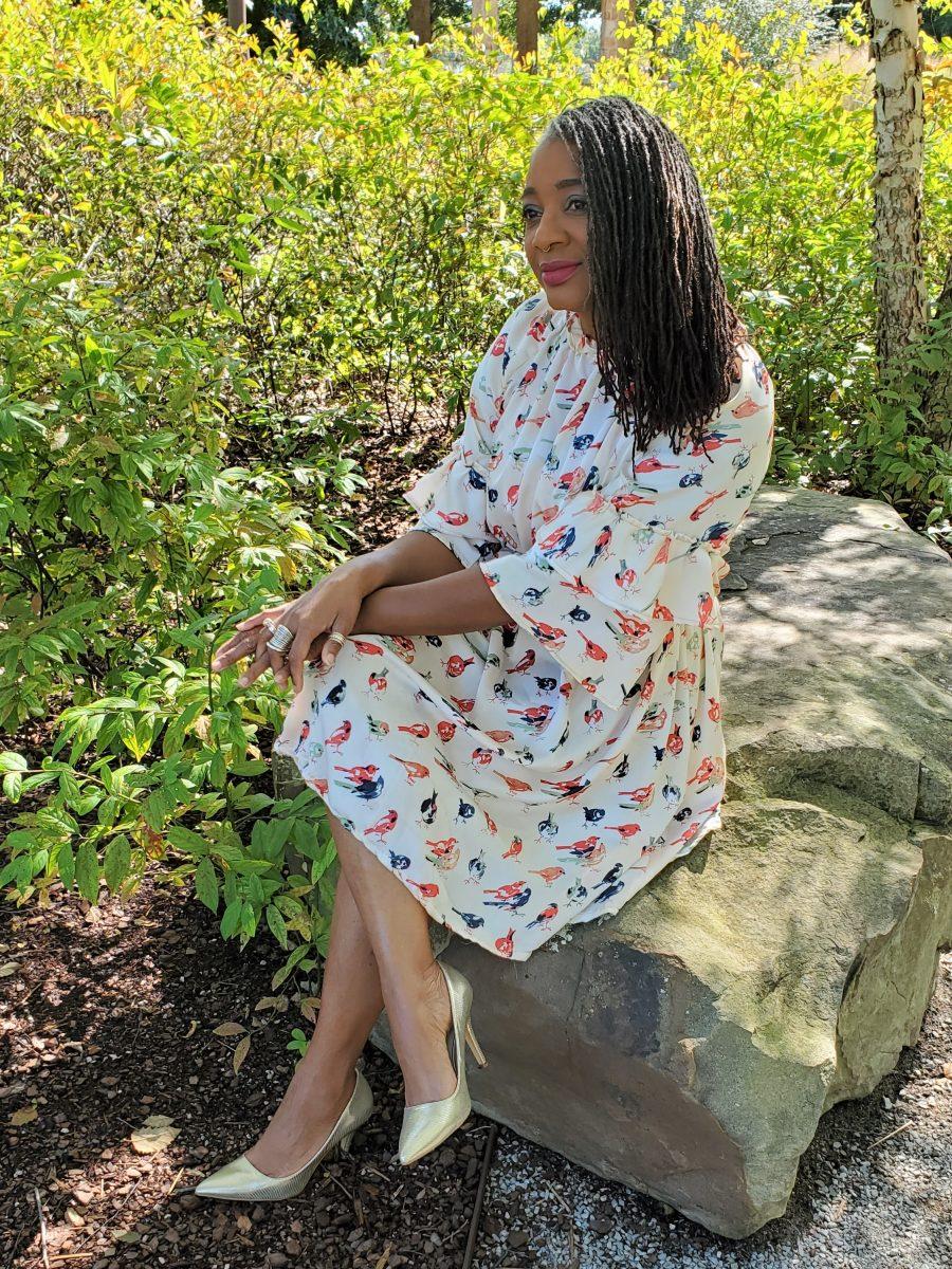 Simplicity S9012 Ruffled Dress