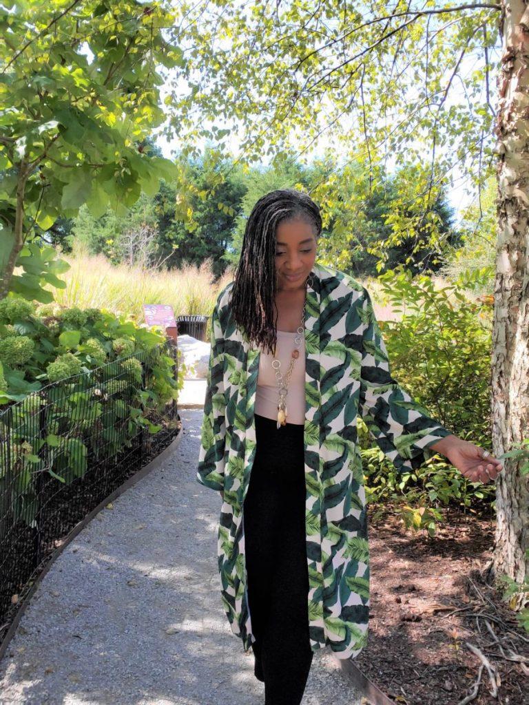 Simplicity 8553 Green Full Length Kimono