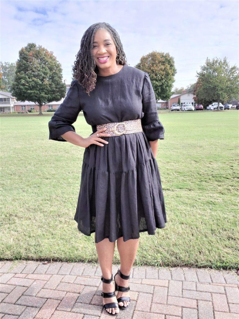 McCalls M7848 Tiered dress www.sewzaizay.com