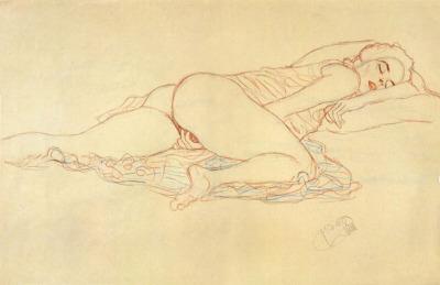 Orgazm, Klimt