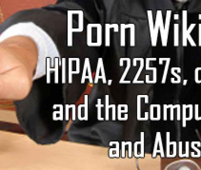 Legal Aspects Of The Porn Wikileaks Case