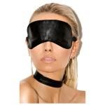 Маска БДСМ: тканевая или кожаная повязка на глаза. Меняет ощущение от секса. Человек не видит, что с ним делает партнер, поэтому слух тоньше, тактильные ощущения острее. На sex box