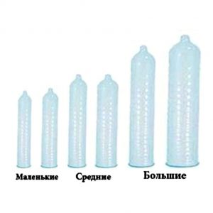 разные размеры презервативов для секса и анала для больших и маленьких хуев