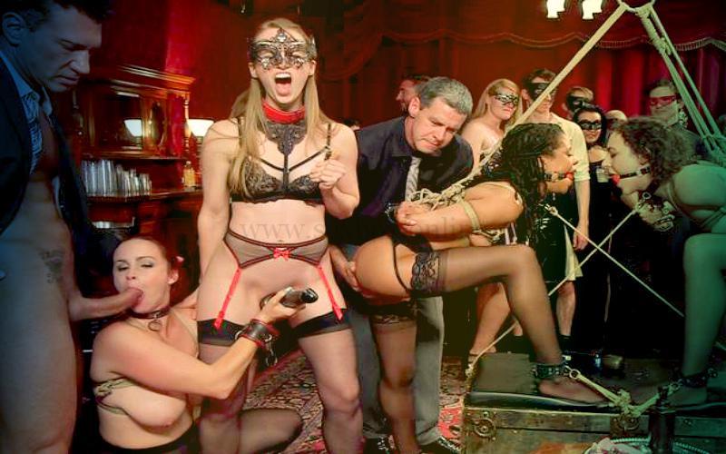 Фото: секс-вечеринка в стиле БДСМ. Смотрите фото бесплатно он-лайн