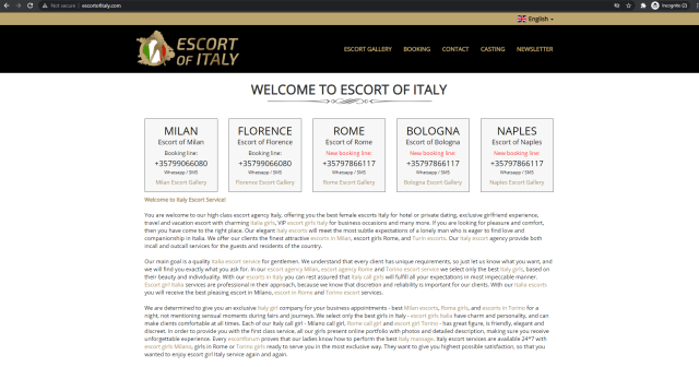 Escort of Italy